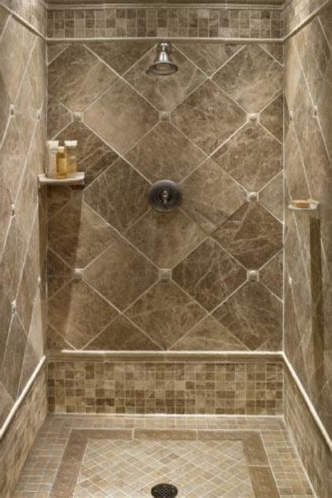Bathroom Shower Ideas Tile Tile Ideas For Downstairs Shower Stall For The Home Pinterest Shower Tiles Master