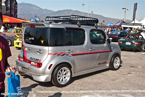 stanced nissan cube irwindale speedway slammed society coverage nissan cube