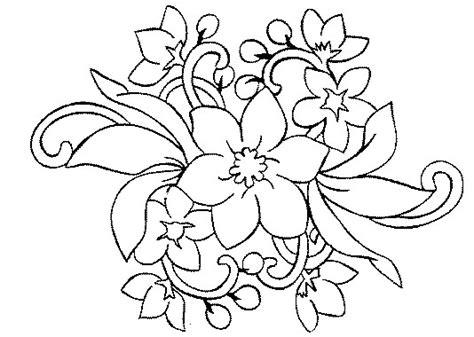 17 Fleur A Colorier Pinterest Coloriage
