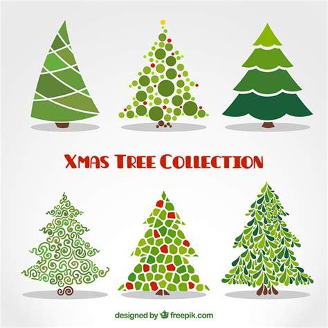arbol de navidad vector colecci 243 n de 225 rboles de navidad abstractos descargar