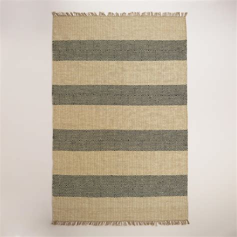 market rugs black and ellie jute area rug world market