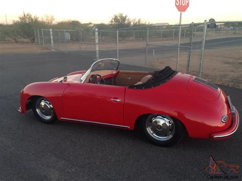 porsche speedster kit car no reserve 356 porsche speedster replica factory kit car