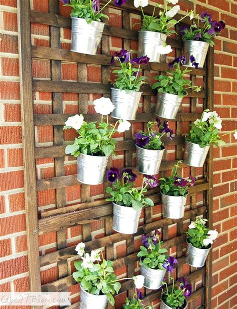 17 best ideas about vertical planter on pinterest front porch we actually used 1 4 inch anchors with 2 1 2
