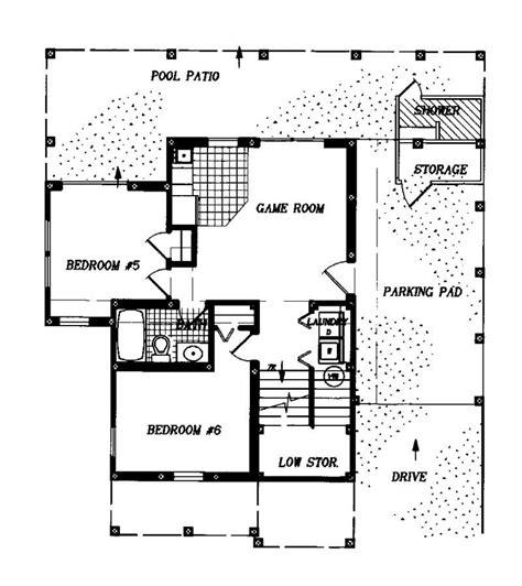 ground floor house plan house plan 130 1009 6 bedroom 2791 sq ft coastal