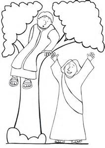 zacchaeus coloring page zaccheus coloring pages coloring home