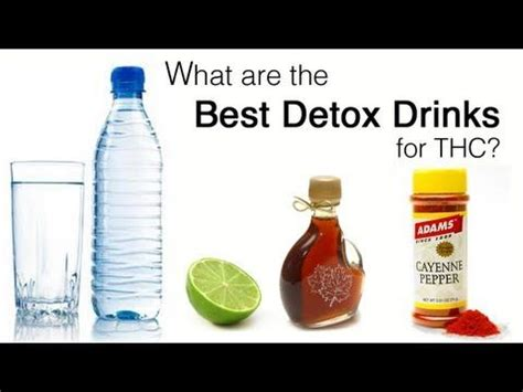 What Detox Drinks Work Best For Thc thc detox