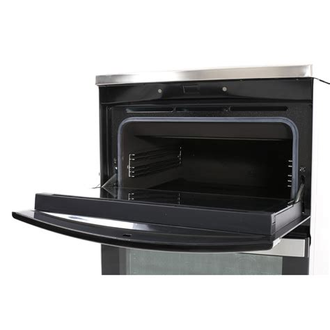 aeg electric induction oven aeg 49176iw mn induction electric cooker with oven stainless steel buy today