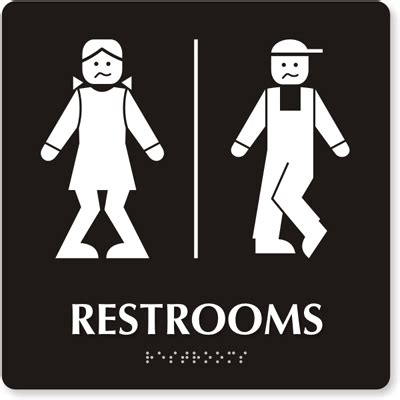 fun bathroom signs funny bathroom signs