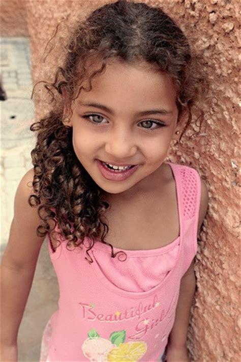 baby, curly hair, girl, green eyes, happy, mixed girl