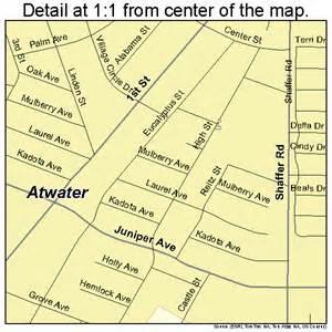 atwater california map 0603162