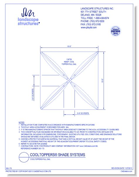 Landscape Structures Dwg Landscape Structures Inc Site Products Cad Drawings