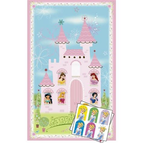 princess themed party games disney princess party game poster 1ct children s party