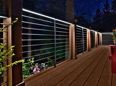 Outdoor Rail Lighting Rail Lighting Kit With Feeney Led Lighting Exterior Modern And Contemporary Stair Kits
