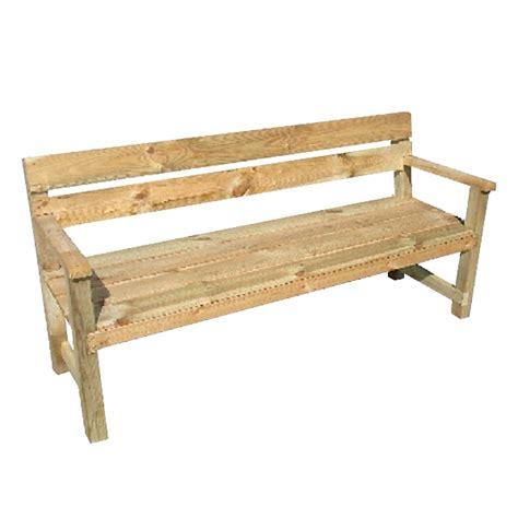 panchina per esterno panchina in legno edith da esterno arredo giardino