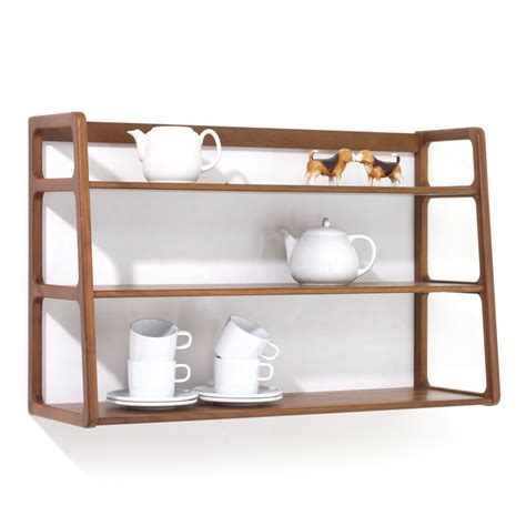 scp ks017 agnes wall mounted shelving unit walnut