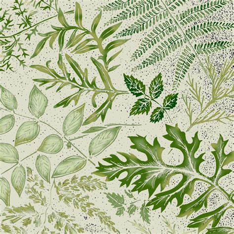 librarian tells all inspired by botanical print fabric