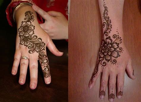 henna tatto hand easy 30 simple easy best mehndi patterns for