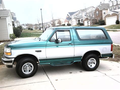bronco car 1996 used 1996 ford bronco performance specs 1996 ford bronco