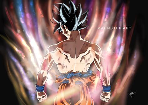 imagenes goku limit breaker hd goku limit breaker dragon ball super by mahnsterart on