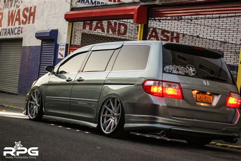 custom honda odyssey honda odyssey bagged on 22 s about that life rpg