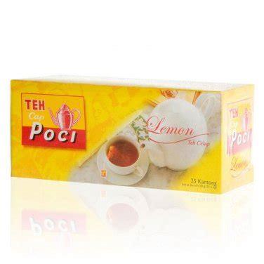 Teh Celup Poci teh poci teh celup lemon 50 gram instant tea bags lemon