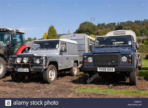 ranch land rover land rover defender 4x4 farm vehicles in the u k stock