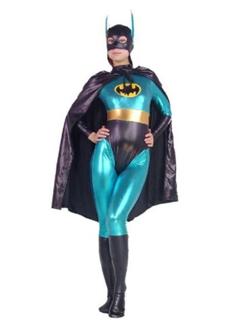 Batman Spandex shiny metallic batwoman batgirl costume zentai suit 20410
