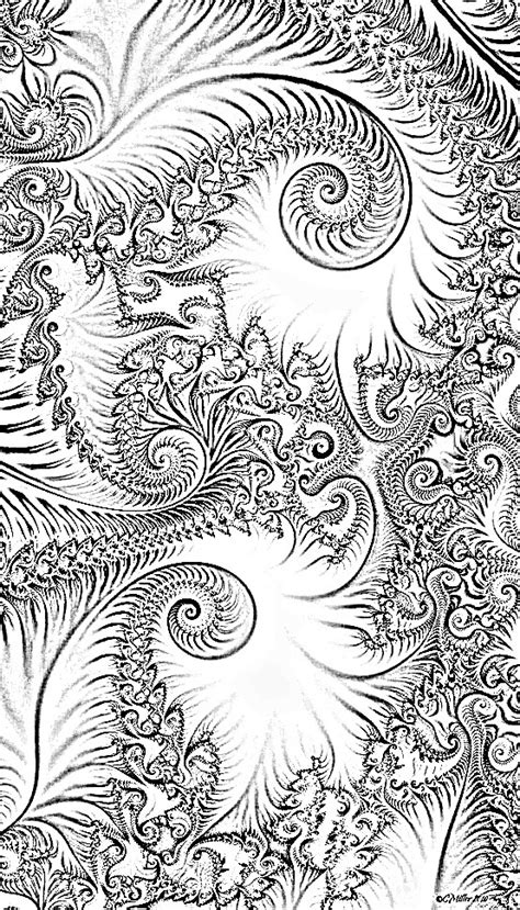 fractals coloring pages pinterest