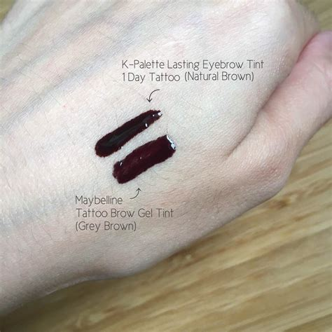 tattoo brow maybelline review boots maybelline tattoo brow gel tine review beautypeadia