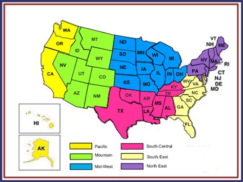 My State Capitals   Mid West Region