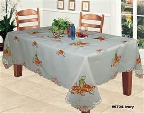 thanksgiving tablecloths harvest thanksgiving embroidered pumpkin sunflower