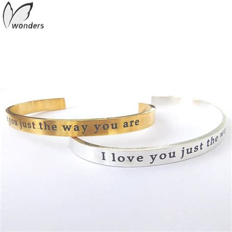 wholesale 10pcs lot new design cool jewelry word covered bracelet 18k gold siver plated