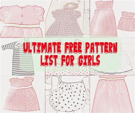 free jeans pattern sewing free sewing patterns for all your girls from big to small