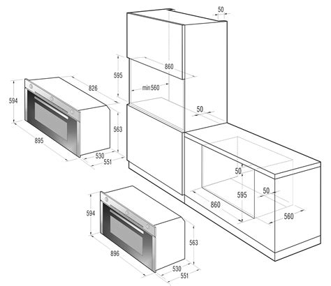 Loyang Oven Gas 45 X 45 X 65cm Anti Karat gas oven bog922e10x gorenje