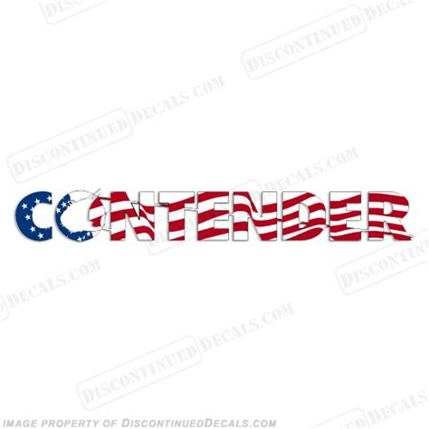 contender boats logo contender boat logo decal waving flag