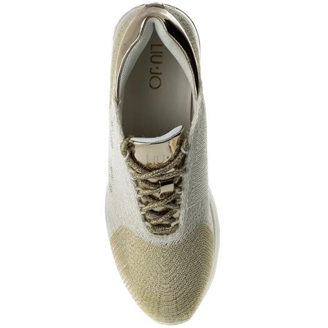 Sneaker Wedges White Snow Brokat Terbaru sneakers liu jo elsa b18009 t2042 snow white 10602 sneakers low shoes s shoes