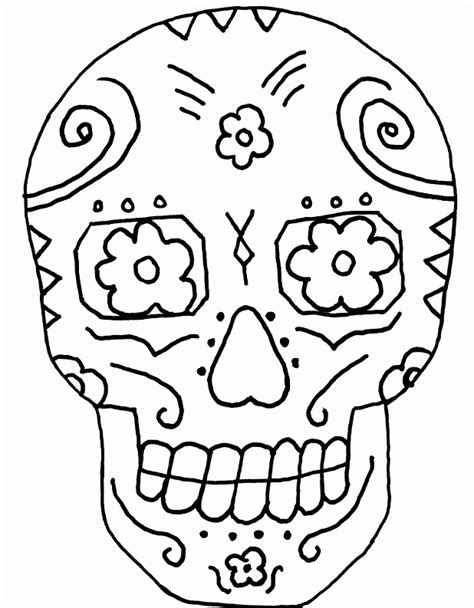halloween coloring pages day of the dead day of the dead skull coloring pages coloring home