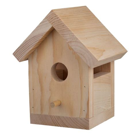 Inexpensive Outdoor Kitchen Ideas by Houseworks Bird House Kit 94503 The Home Depot