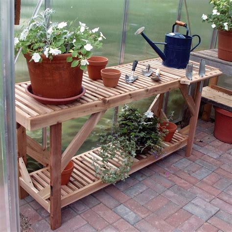 potting bench for greenhouse 80 best images about potting tables i like on pinterest