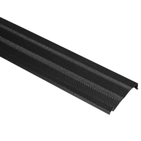 home products amerimax home products 5 in x 3 ft black diamond gutter shield 85235bx the home depot