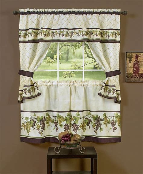 beautiful curtain designs for kitchen curtain