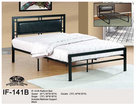 Single Platform Bed Bunk Beds Comfort