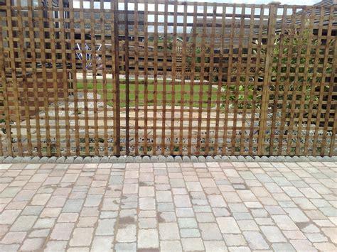 Garden Fencing Edinburgh The Garden Construction Garden Wall Panels