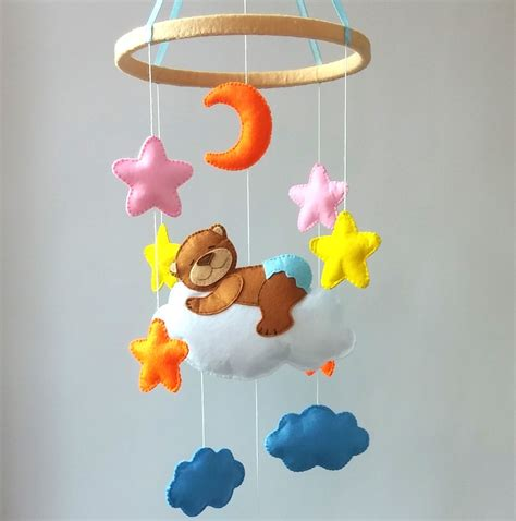 Handmade Crib Mobile - crib mobile baby mobile nursery decor baby crib by zootoys