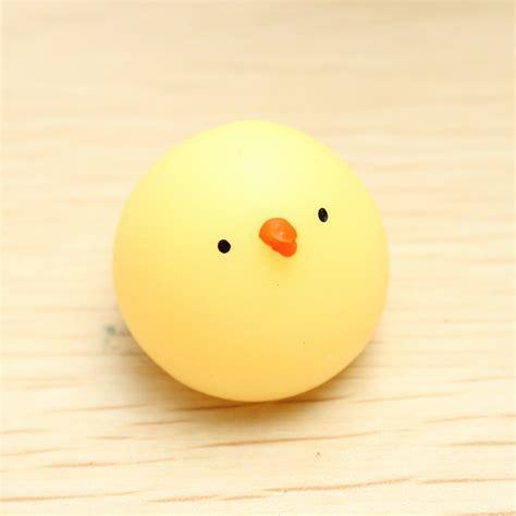 mochi chicken squishy squeeze healing kawaii