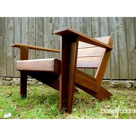 modern adirondack chairs custom made modarondack modern adirondack chair by plank