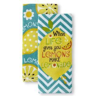 Lemon Kitchen Towels by Ritzenhaler 2 Pack Kitchen Towels Lemon Home