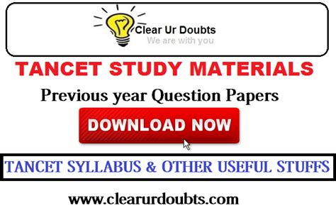 Mba Preparation Material Free by Tancet Question Papers Solved For Mba Mca Me