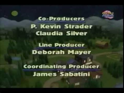 blue song at the end in the big blue house credits 3
