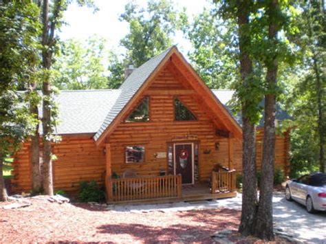 branson cabin all wood log cabin tub in woods wifi